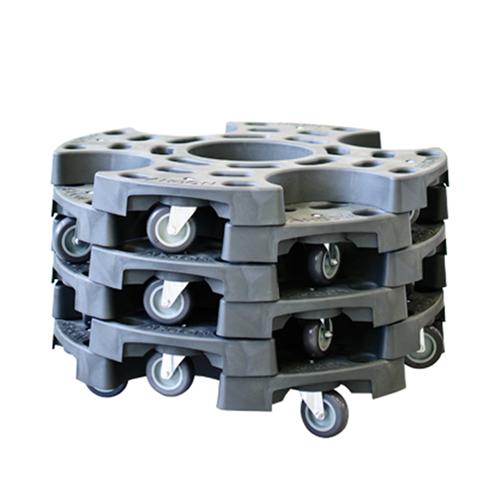 wheel trolley six pack lagertechnik west online shop. Black Bedroom Furniture Sets. Home Design Ideas